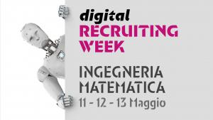 recruiting week ingegneria e matematica
